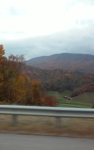 The Tennessee mountains in fall.
